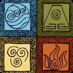 Logo del grupo Avatar: Los Cuatro Elementos